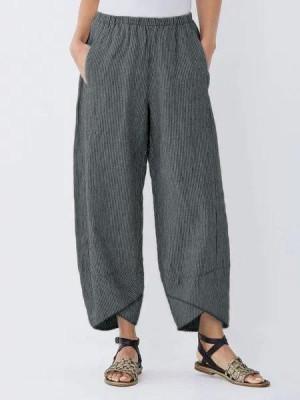 Women's Flawless Striped Casual Pants