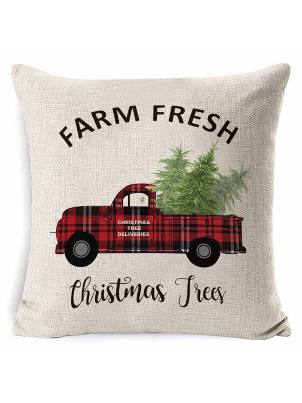 Christmas Print Pillowcase