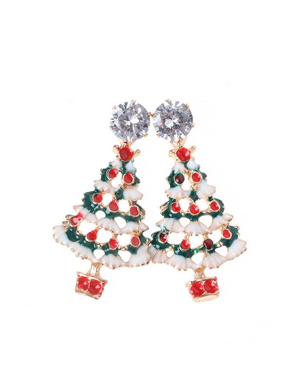 Women's Christmas Pattern Earrings