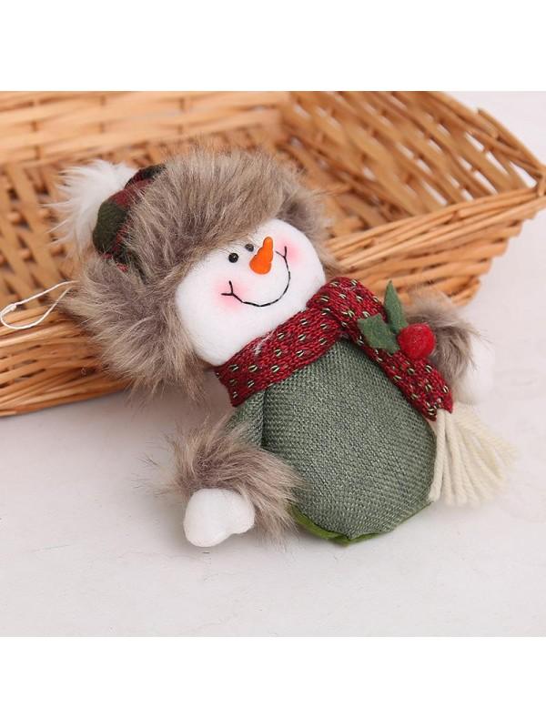 Christmas Santa Snowman Muppet Christmas Tree Backpack Pendant