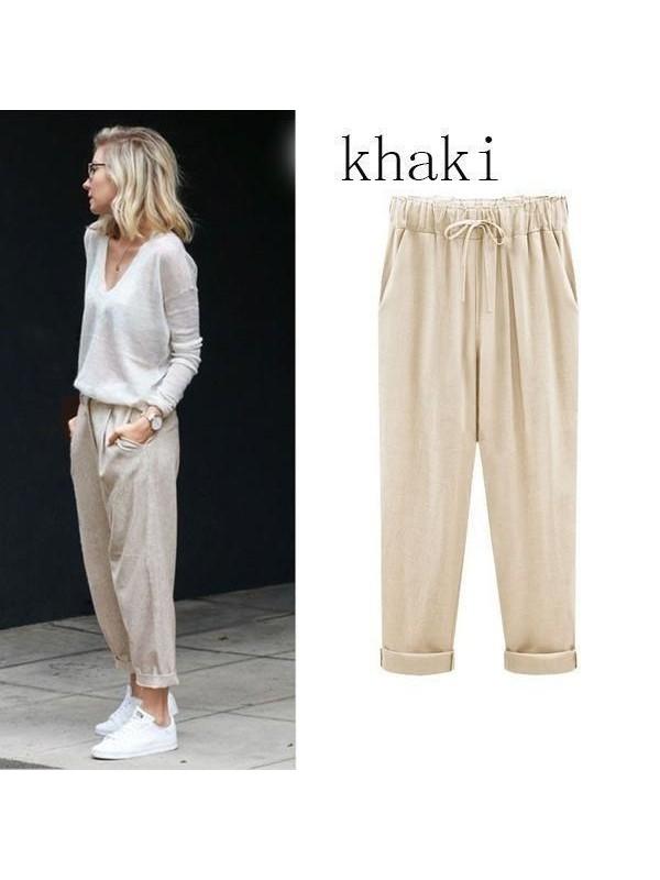 Khaki( Ninth Pants)